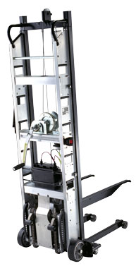 Escalera stair climbing hand trucks and forklifts for Motorized hand truck rental